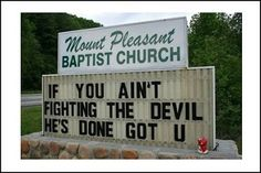 Which religious sect spells the worst. You decide. #illiterate #church
