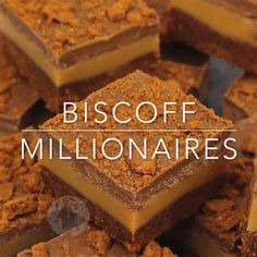 baking recipes Biscoff Biscuit base, Homemade Caramel Filling, and a Biscoff Chocolate Topping Biscoff Millionaires Traybake! Biscoff Recipes, Brownie Recipes, Cookie Recipes, Chocolate Cheesecake Recipes, Shortbread Recipes, Tray Bake Recipes, Baking Recipes, Baking Pan, Baking Soda