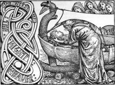 Baldur Son of Odin was the Prince of Asgard. The death of Baldur was the first sign of Ragnarok. Thor Norse, Old Norse, Norse Pagan, Norse Vikings, Asatru, Mabon, Viking Age, Viking Ship, Norse Mythology