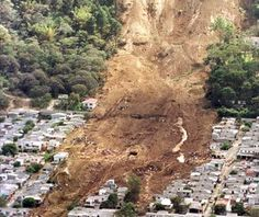 Hurricane Mitch hits Central American killing an estimated 18,000 people due to landslides burying whole villages  Oct. 29, 1998