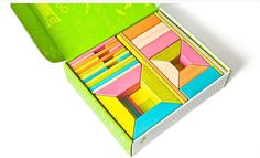 Tegu magnetic blocks now come in so many great colors and sets.