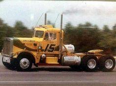 Big Rig Trucks, Semi Trucks, Cool Trucks, Peterbilt 359, Peterbilt Trucks, Fast Times, Heavy Truck, Vintage Trucks, Classic Trucks