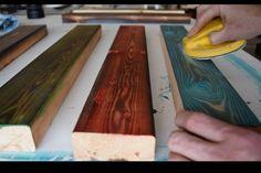 Picture of Sanding & Finish de madera reciclada How to Burn & Stain Wood Aka Shou Sugi Ban Woodworking For Kids, Woodworking Toys, Woodworking Projects, Woodworking Classes, Woodworking Organization, Woodworking Quotes, Woodworking Chisels, Intarsia Woodworking, Woodworking Basics