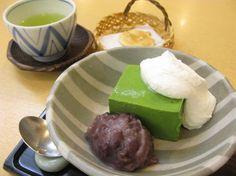 Kagurazaka Kinozen Maccha bavarois 紀の善  抹茶ババロア