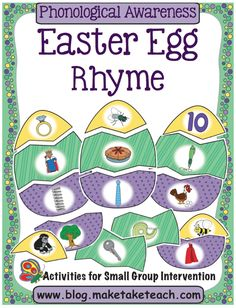 Easter Egg Rhyme Match
