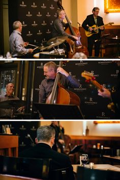 Live jazz notes with Mike Stafford Trio.