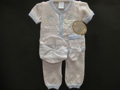 Will'Beth Boutique s s Knit 3M Airplane White Outfit Socks Hat 4pc Baby Boy   eBay