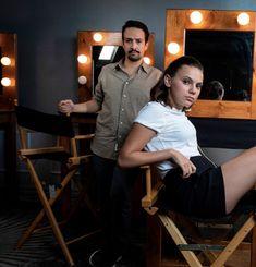 Dafne Keen and Lin Manuel Miranda. Lin Manual Miranda, His Dark Materials, Lin Manuel, Best Tv, Role Models, Actors & Actresses, Fangirl, Acting, How To Memorize Things