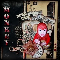 Whos your monkey? *Swirlydoos* - Scrapbook.com