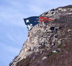 State of NH has finally repaired the Old Man of the Mountain.