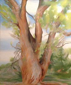 Georgia O'Keeffe Tree Paintings   Cowboys, Indians & Georgia O'Keeffe