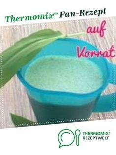 Bärlauch Salatsauce 1 Liter auf Vorrat von Monika Groß. Ein Thermomix ® Rezept aus der Kategorie Saucen/Dips/Brotaufstriche auf www.rezeptwelt.de, der Thermomix ® Community.