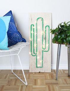Como usar mangueira luminosa (corda luminosa) na decoração.