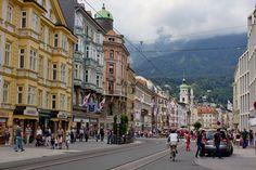Innsbruck city center.