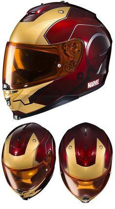 Marvel Iron Man Motorcycle Helmet