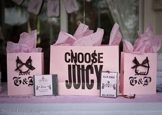 Juicy Couture Party!!!! It was meant to be!! <3<3<3