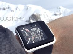 WATCHe - - Mountain and snow connected ! Apple Watch, Smart Watch, Mountain, Snow, Smartwatch, Human Eye