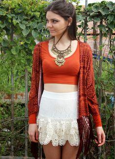 M. Huntt Moda Feminina: Top hits - Crochê + Estampas + Kimono