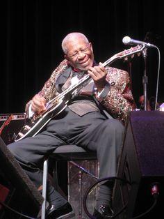 B.B. King...Starplex in Dallas with Stevie Ray Vaughn.
