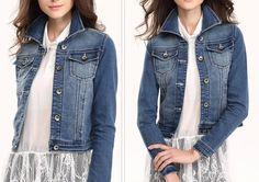 jaqueta jeans 2015 - Pesquisa Google
