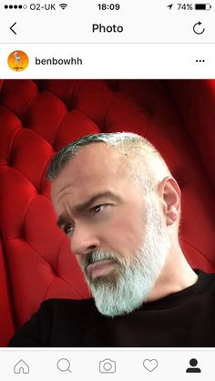 best ideas for hair men hipster silver foxes Beard Look, Man Beard, Hair And Beard Styles, Hair Styles, Beard Tips, Viking Beard, Grey Beards, Silver Foxes, Men With Grey Hair