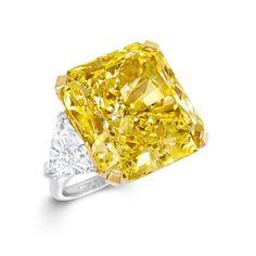 HD Graff Diamonds» (Graff Vivid Yellow) wallpaper