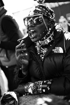 """""""Samburu Warriors in New York"""" Shot by Billy Kidd. The whole collection is dope."""