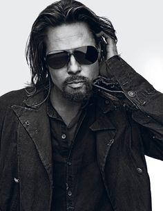 Brad Pitt for Interview