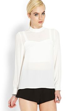 You Asked, We Answered: The Best White Shirts Under $100 #refinery29  http://www.refinery29.com/white-t-shirt#slide6