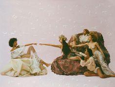 by Carlota Guerrero (Numéro Berlin) The Wicked The Divine, Black Girl Aesthetic, Poses, Aphrodite, Black Girl Magic, Black Art, Retro, Art Direction, Art Inspo