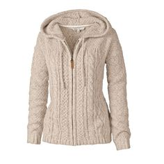 Amelia Cable Zip Thru Hoody at Fat Face