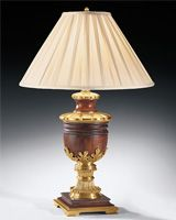 Greek urn table lamp