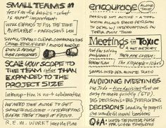 Sketchnotes by Mike Rohde while attending the SEED Conference, October 29, 2007 at the Illinois Institute of Technology in Chicago. Speakers were Carlos Segura, Jason Fried and Jim Coudal.