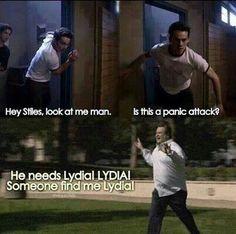 He needs Lydia