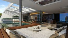 2 & 3 Bedroom, Contemporary, Panoramic Sea View Villas in Chaweng - Picture  5