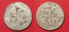 1791 Mexiko MEXICO 8 Reales (Peso) 1791 FM Mo CARLOS IV silver CHINESE CHOPMARKS XF! # 92107 XF