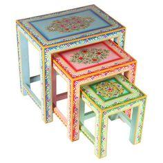 3-Piece Indira Nesting Table Set (Set of 3)