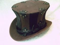 sew a top hat | FOCAL POINT STYLING: FOCUS ON: Halloween - Steampunk Style