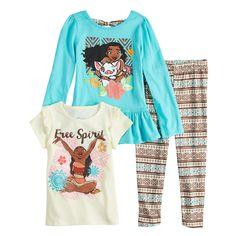 Jumping Beans Little Girls 4-12 Run Free Spirit Tee