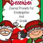 December Journal Prompts These adorable journal prompts are a great way to get your students motivated in writing everyday. There is a topic for ea...