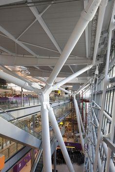 Resultado de imagen para heathrow terminal 5 structure