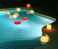 Bowl wax lanterns float on water and create a mesmerising effect when placed in a pool or water feature. The water reflects the alluring glow of the lanterns, a combination that creates a truly magical and unforgettable experience.