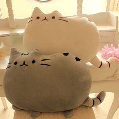 40CM Novelty item soft plush stuffed animal doll,talking anime toy pusheen cat for girl kid;kawaii,cute cushion brinquedos-in Stuffed & Plus...