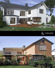 This house was redeveloped by beyond REAL ESTATE, Düsseldorf (Germany) - The Architectural Visualization are produced by beyond REALITY - www.beyond-reality.info - #realestatedevelopment #renovation #beforeandafter #realestatemarketing #realestate