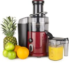 Andrew James Professional Whole Fruit Super Power Juicer 1035 watts in Stunning Red, includes cleaning brush and froth separator and large 2.5 litre pulp container Andrew James http://www.amazon.co.uk/dp/B008UTO8EM/ref=cm_sw_r_pi_dp_Nlh1vb113P92G