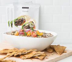 Great Canadian Donair Dip Epicure Products Used: -Roasted Garlic Aioli Mix -Donair Seasoning Epicure Recipes, Tapas Recipes, Dip Recipes, Appetizer Recipes, Dog Food Recipes, Appetizers, Cooking Recipes, Donair Recipe, Menu Tapas