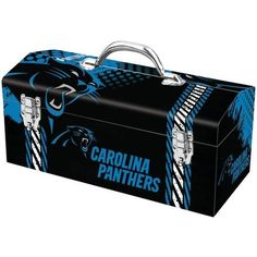 PANTHERS NFL TOOL BOX