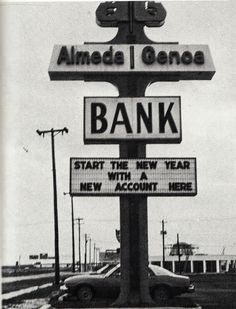 Almeda Genoa Bank 1979