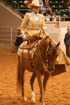 Arabian Ladies Side Saddle, U.S. Nationals, Tulsa, Okla. #ArabianHorses #ShowRing #ArabianHorseAssociation