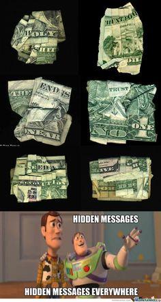 mensajes ocultos :)